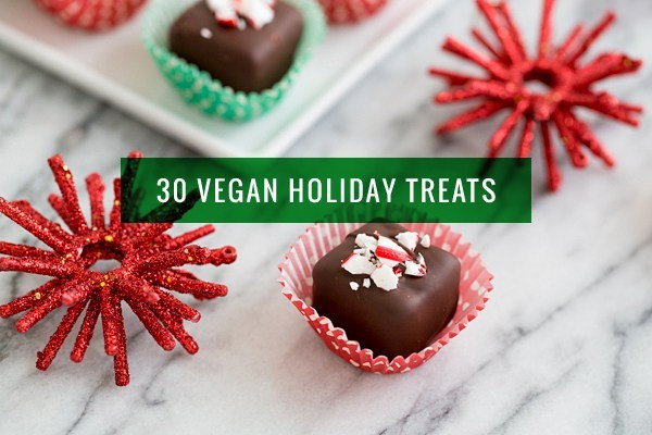 30 Recipes for Vegan Holiday Cookies, Candy and Treats