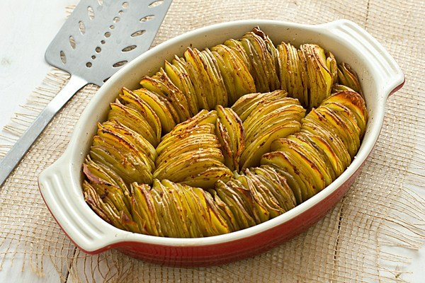 Crispy Chipotle Potato Tian Recipe