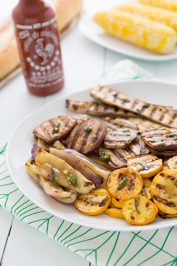 Grilled Veggies for Banh Mi Sandwiches