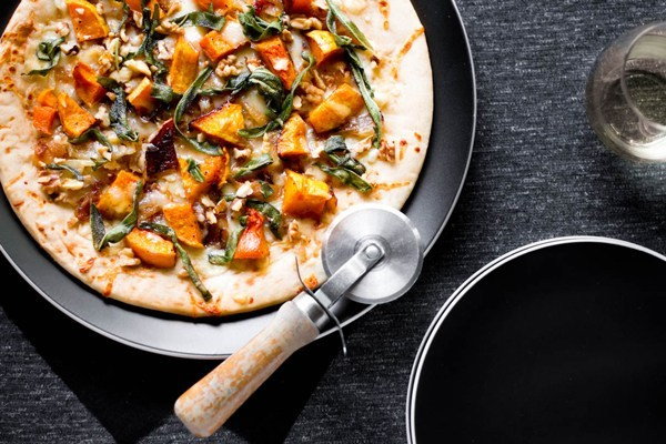 Butternut Squash & Caramelized Onion Flatbread