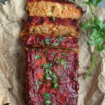 (Almost) Classic Chickpea Vegan Meatloaf